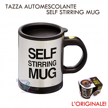 Tazza automescolante self stirring mug