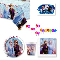 Kit addobbi party Frozen 2 e Il Segreto di Arendelle
