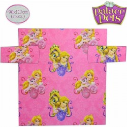 Coperta plaid con maniche princess disney