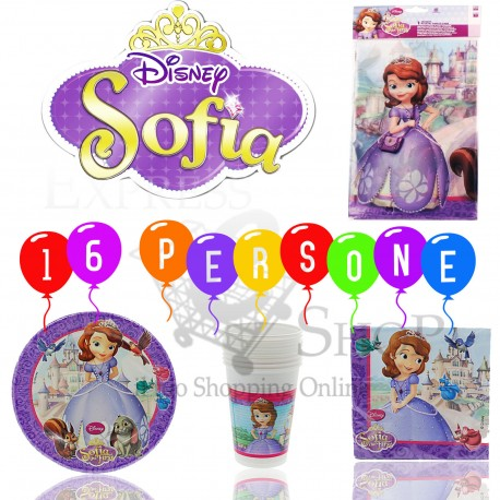 immagine principessa sofia kit party