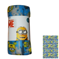 PLAID COPERTA MINIONS MINION IN CALDO PILE