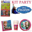 KIT PARTY FROZEN FESTA COMPLETO DI ACCESSORI
