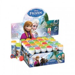 BOLLE DI SAPONE FROZEN DISNEY FLACONE 36PEZZI ANIMAZIONE COMPLEANNO FESTA PARTY