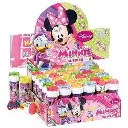 BOLLE DI SAPONE MINNIE DISNEY FLACONE 36PEZZI ANIMAZIONE COMPLEANNO FESTA PARTY