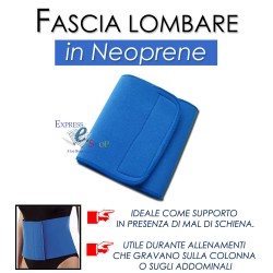 TUTORE SCHIENA FASCIA ELASTICA LOMBARE