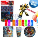 KIT PARTY TRANSFORMERS 16 PERSONE