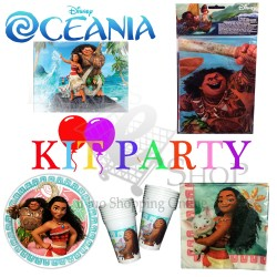 Kit accessori compleanno Oceania Disney 2017