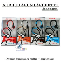 Cuffie auricolari SOMAI FOR SPORTS ad archetto