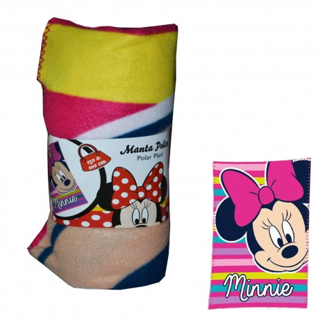 PLAID COPERTA DISNEY MINNIE IN CALDO PILE