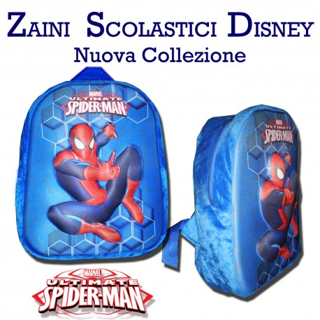 Zaino asilo spiderman marvel 3d