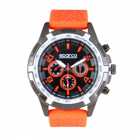orologio sparco eddie orange