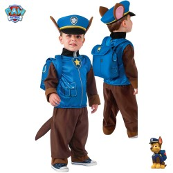 Costume carnevale Chase Paw Patrol per bambino